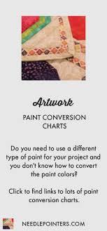 Acrylic Paint Conversion Chart Americana To Delta Ceramcoat Conversion Charts Paint Needlepointers Com