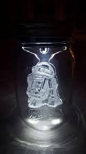 Star Wars Solar Lights Sol Lights R2d2 Star Wars Mason Jar Solar Light Force