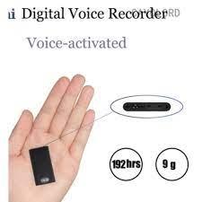 En Ufak Ultra Slim Gizli Ses Kayıt Cihazı – Casus Market