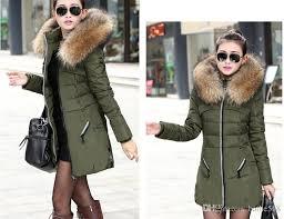 new 2017 winter women jacket coat thicken slim female fur collar long down coat casual parka