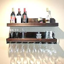 wall mount wine rack wall wine rack wood wall wine glass rack shelf wall mounted wine