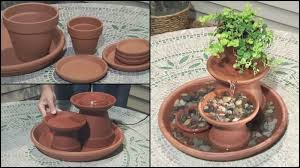 how to make a garden fountain. Brilliant How VIEW IN GALLERY TerraCottaWaterFeature Inside How To Make A Garden Fountain R