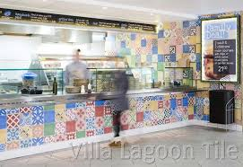 patchwork tile in the uk at chester zoo