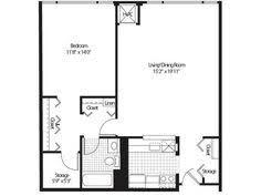 1 bedroom 1 bath floor plan of property detroit city apartments luxury apartment living