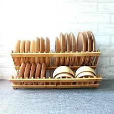 bamboo dish drying rack wooden dish rack natural bamboo dish rack wooden dish drying rack