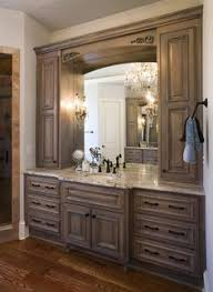 vanity cabinets for bathrooms. Bathroom,Magnificent Single Bathroom Vanity Sink White Marble Whitewash Color Body And Bowl Also Large Beautiful Mirror With Birch Wood Frame For Cabinets Bathrooms I