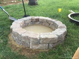 diy patio with fire pit. Instructive Stone Fire Pits Decor New Building A Pit Diy With Seating   Sanctionedviolencegear Best For Pits. Build Your Own. Patio
