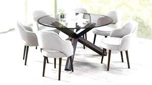 60 round glass dining room table inch top retro and winning sets set 60 inch round