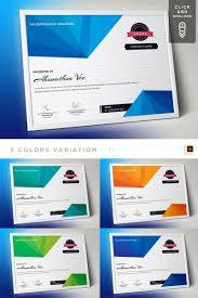 Corporate Certificate Template Corporate Modern Vol 01 Certificate Template