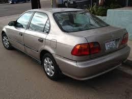 honda civic 2000 4 door. Beautiful Honda 2000 Honda Civic LX Sedan 4Door 16L US 265500 In 4 Door