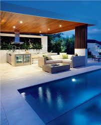 outdoor kitchen lighting ideas. Images About Outdoor Kitchen On Pinterest Kitchens Modern And Built In Bbq Bar Lighting Ideas Interior Home Decoration For Remodeling