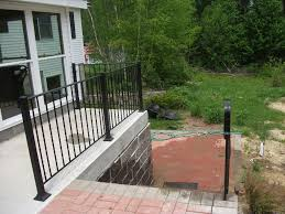 Wrought Iron Handrails Exterior Endearing Ideas For Front Porch And Home Exterior