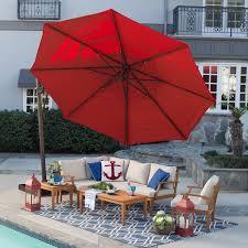 home decor amusing cantilever umbrella reviews coolaroo 12 ft