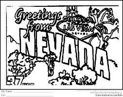 Las Vegas Coloring Pages