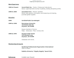 First Time Resume Inspiration First Resume Samples Llun