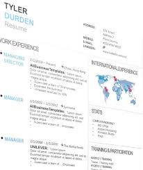 Where Can I Get A Template Of An Attractive Resume For A Marketing ...