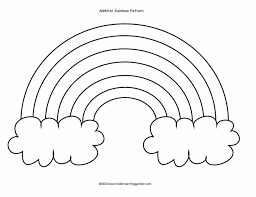 Small Picture And Cloud Coloring Page Free Printable Pages Cumulus Cloud Cloud