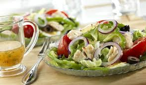 garden salad with chicken. Beautiful With On Garden Salad With Chicken E
