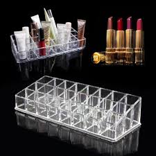 Lipstick Display Stands Buy New Lipstick Makeup Cosmetic Organizer 100 Stand Trapezoid 16
