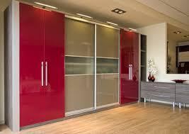 bedroom furniture wardrobes sliding doors. bedroom wonderful red metalic modern sliding doors wardrobes diy decor ideas stylish furniture n