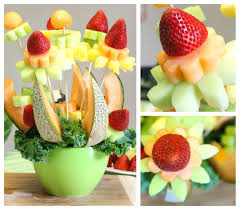 Fruit And Flower Arrangements How To Make A Fruit Bouquet Its Easier Than  You Think Decorating
