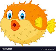 cute puffer fish clip art. Fine Fish Cute Puffer Fish Cartoon Royalty Free Vector Image Banner Stock To Puffer Fish Clip Art T