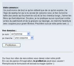 site de rencontre psychologie