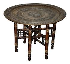cheap moroccan furniture. Moroccan Brass \u0026 Mother Of Pearl Inlay Table Cheap Furniture C