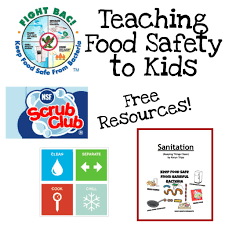 Small Picture Fun Ways to Teach Food Safety Food safety Free printable and Safety