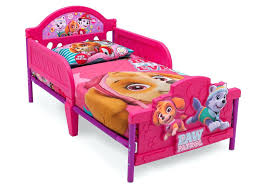 paw patrol toddler bed pink bedding sets
