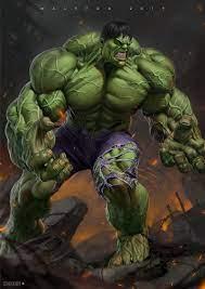 ArtStation - Hulk, Alex Malveda   Hulk comic, Hulk art, Hulk artwork