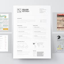 Modern Resume Template Free Download Eadily Read By Resume Reading Soft Wear 7 Resume Design Principles That Will Get You Hired 99designs