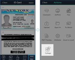 Make Or Copy With Card License Easily Camscanner An A Of Id Driver