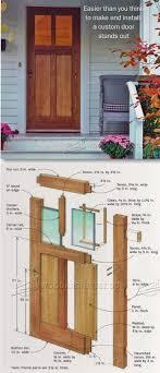 how to make a front doorFront Doors Beautiful Build A Front Door Plans For Front Door