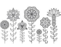 Dessin A Imprimer De Mandala Fleurs Automne Artherapie Ca