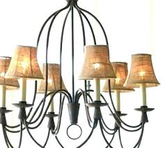 small chandelier shade burlap chandeliers shades for elegant