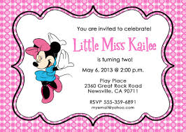 Party Invitaion Templates Printable Minnie Mouse Birthday Invitation Templates Download Them