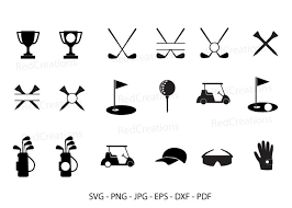 This exclusively designed svg cut file is for yearly, lifetime and extended license members only! Golf Monogram Frame Golf Clipart Graphic By Redcreations Creative Fabrica