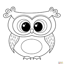 Simple Thanksgiving Owl Coloring Pages Adults 29 Cool Cartoon Page