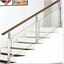 china stainless steel staircase wooden stairway glass staircase baer banister handrail
