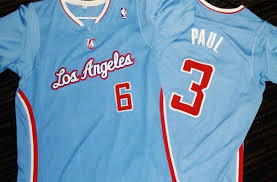 Blue Clippers Jersey La La Clippers Jersey Blue La