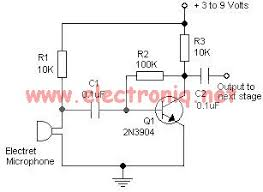 mic preamp circuit diagram the wiring diagram simple microphone preamplifier circuit diagram