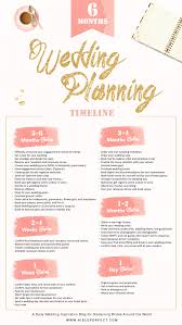 6 Month Wedding Planning Timeline Aisle Perfect Wedding