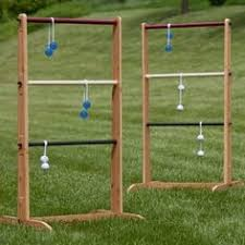 Making Wooden Games Outdoor Games DIY Ladder Toss You Can Take to the Park Ladder 34
