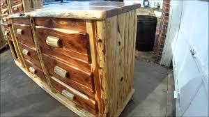 Log Bedroom Suites Log Furniture Bedroom Suite Youtube