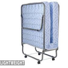 Lightweight 74″ x 31″ Folding Cot Bed with Mattress