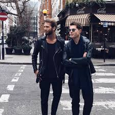 chose leather jackets style that fit well but are slightly oversized make sure you are able to breath in them