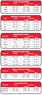 Specialized Size Chart 2013 Helmets Protection Open Face Mtn Road Specialized Tactic