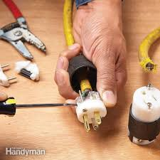 how to repair a cut extension cord family handyman 3 prong plug wiring green white black at Extension Cord Plug Wiring Diagram