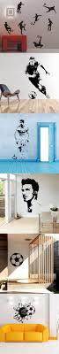 sun wall decal trendy designs: soccer football and famous soccer players wall stickers home decor wall decal for kids room sport